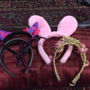 5 Headbands good condition